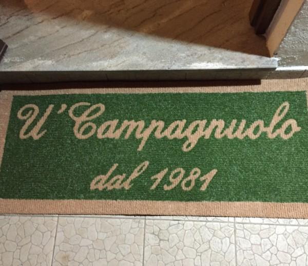 Tappeto per U' Campagnuolo