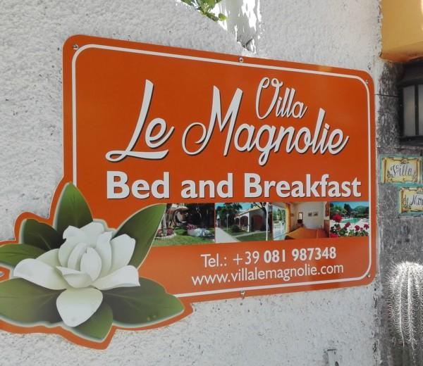 Insegna Villa Le Magnolie