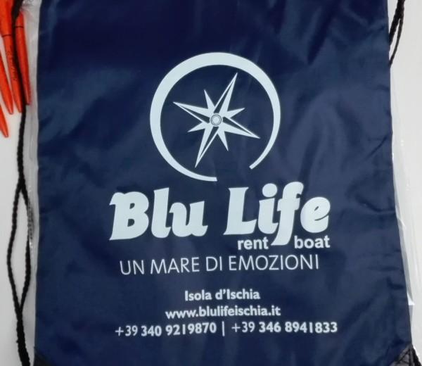 Zaino personalizzato per Blu Life